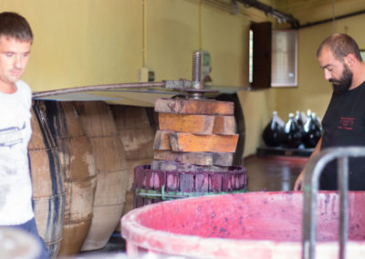 Traditional Grape Press